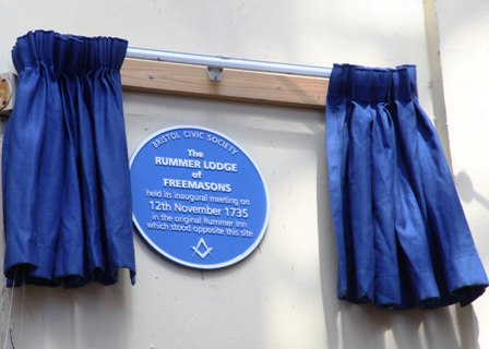 Rummer Lodge plaque