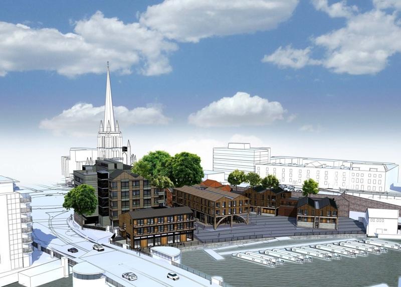 Redcliffe Wharf scheme